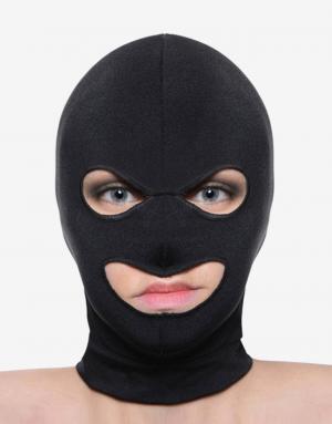 Spandex masken med mund og øjen huller anonymiserer dig