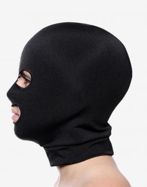 Pasformen er rigtig god på spandex masken, hvilket gør at hullerne til øjne og mund ikke rykker sig