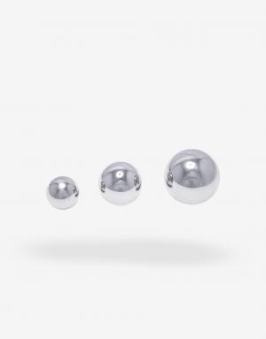 De tre overskuelige størrelser gør det nemt og mere økonomisk at anal træne med dit stållegetøj.