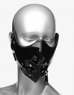 Master Series Lektor sort halv-maske-0