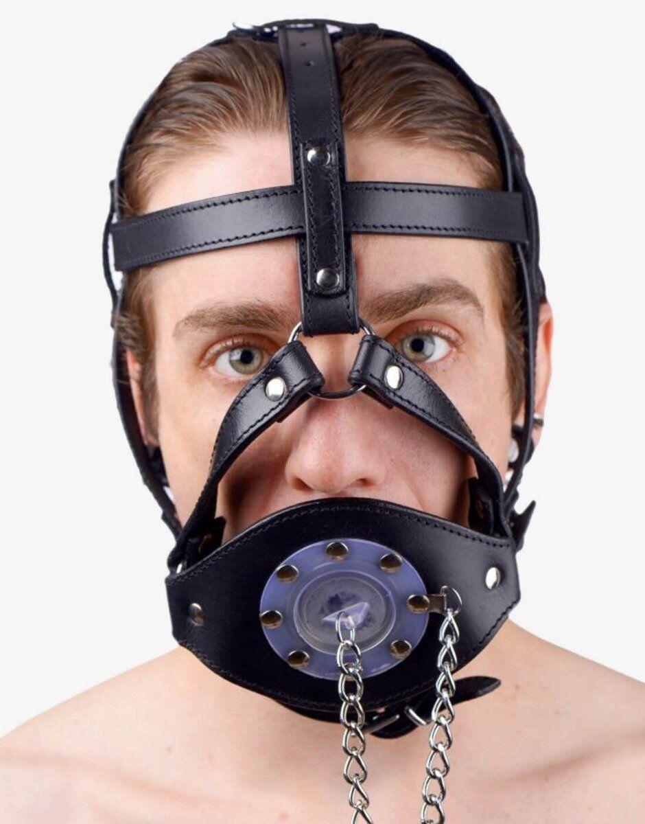Hoved harness med mundprop-0