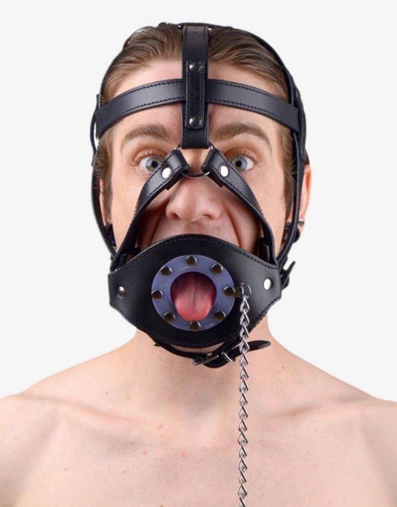 Hoved harness med mundprop-894
