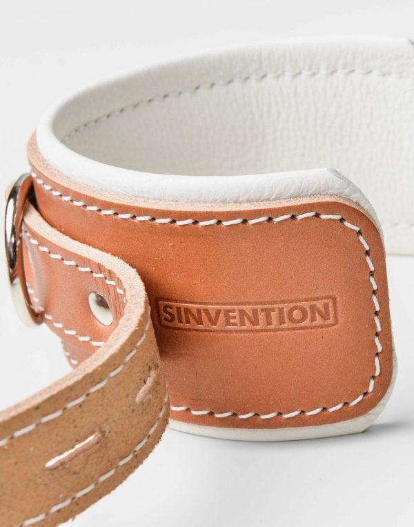 Sinvention's håndmanchetter i tykt lækkert kvalitets læder