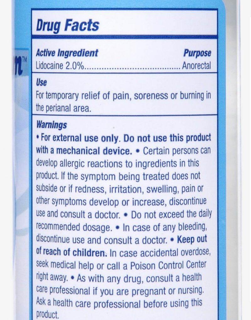 Relax Vandbaseret anal glidecreme med 2% lokalbedøvende 118ml-254
