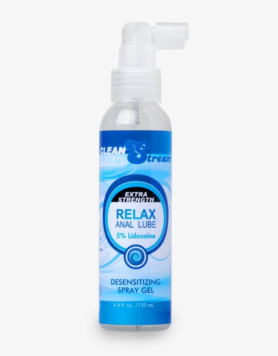 Relax Extra vandbaseret anal glidecreme med 3,5% lokalbedøvende 130ml-0