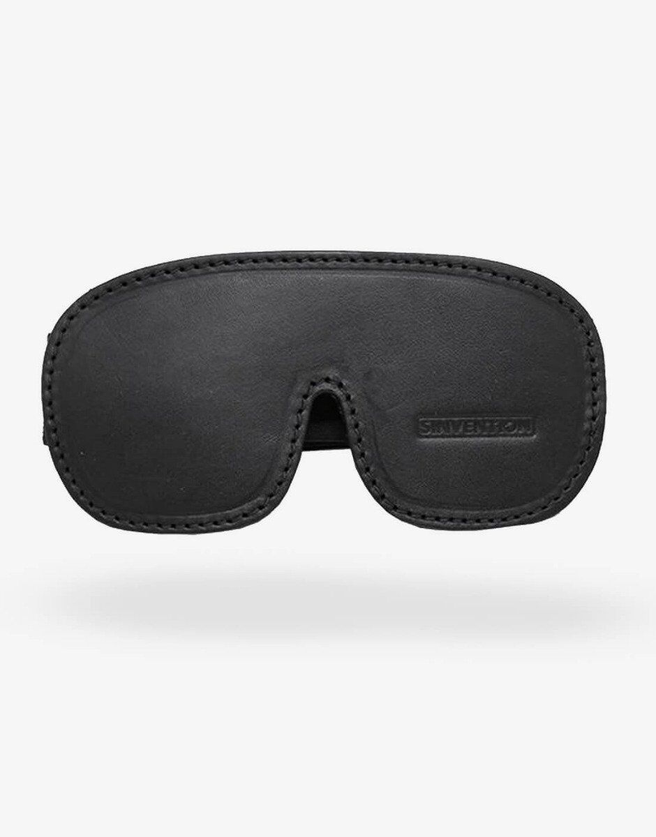 Sinvention læder blindfold-0