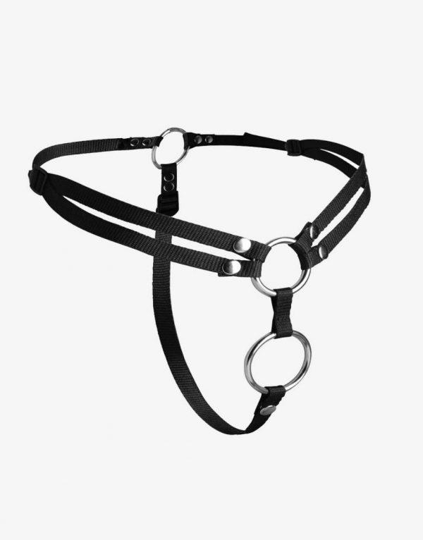 Strap U Unity strap-on seletøj til dobbelt penetrering-0
