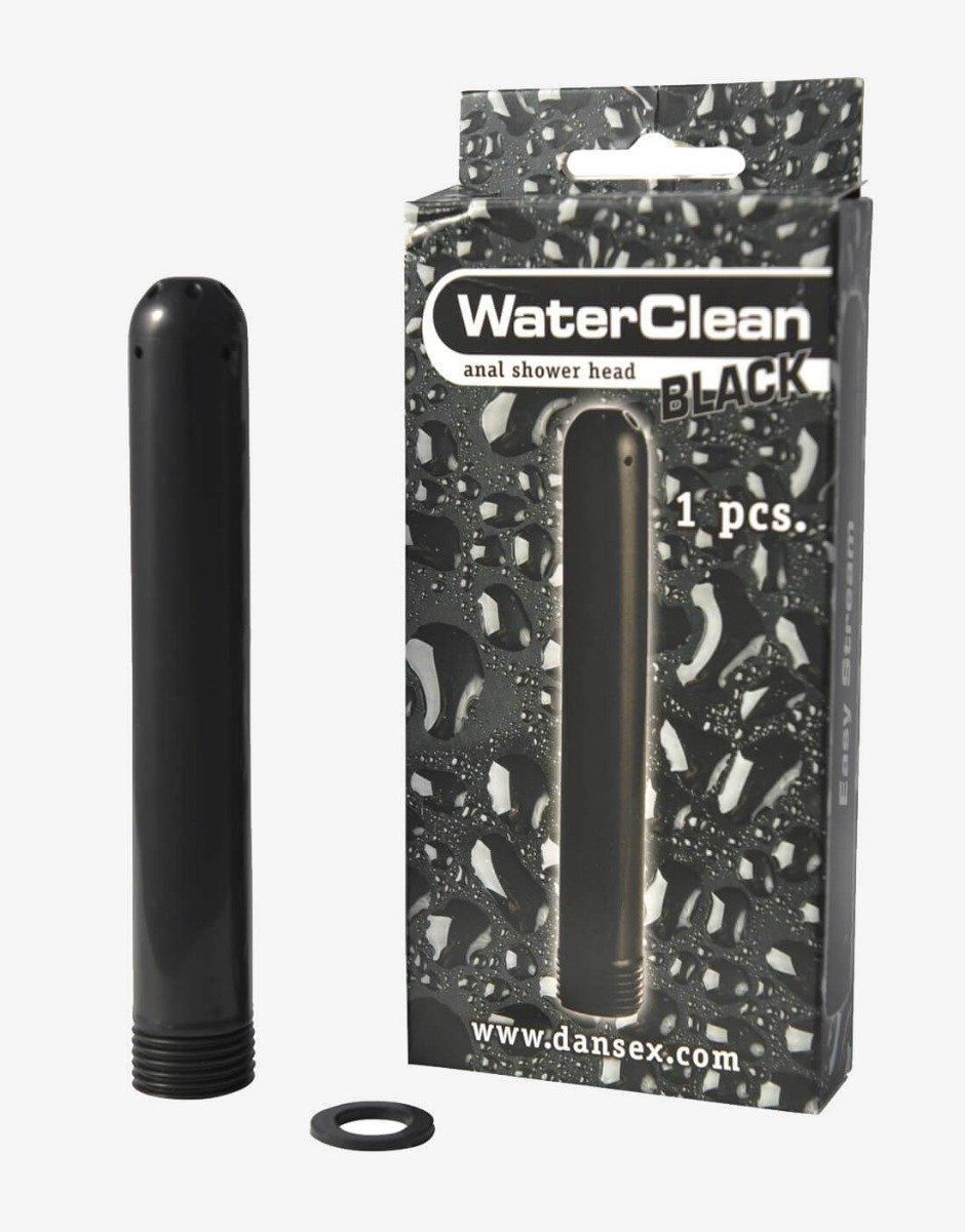 Waterclean leveres i en praktisk æske med brusehoved og pakning