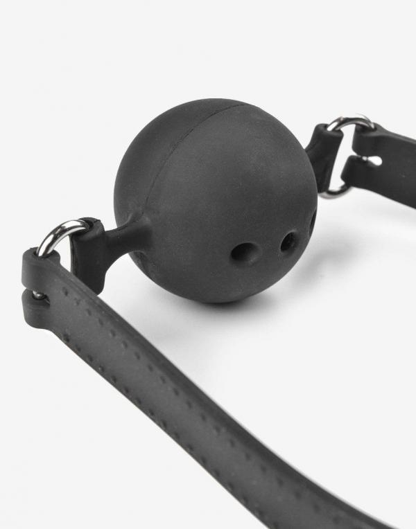 Silikone ball gag med huller - Flere størrelser og farver-1061