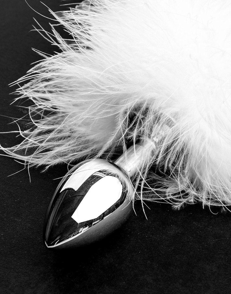 White bunny kanin buttplug-1117