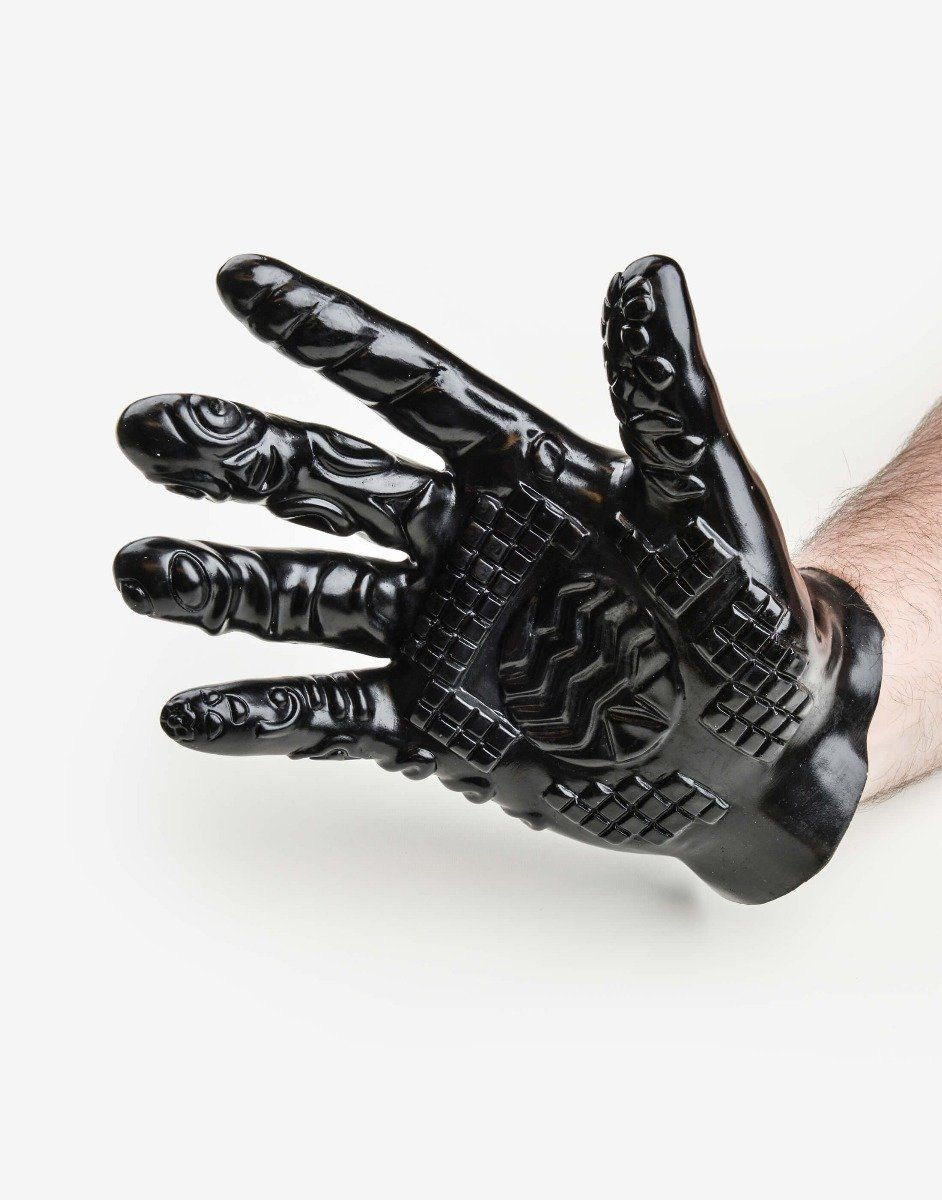 Onani handske uden vibrator -0